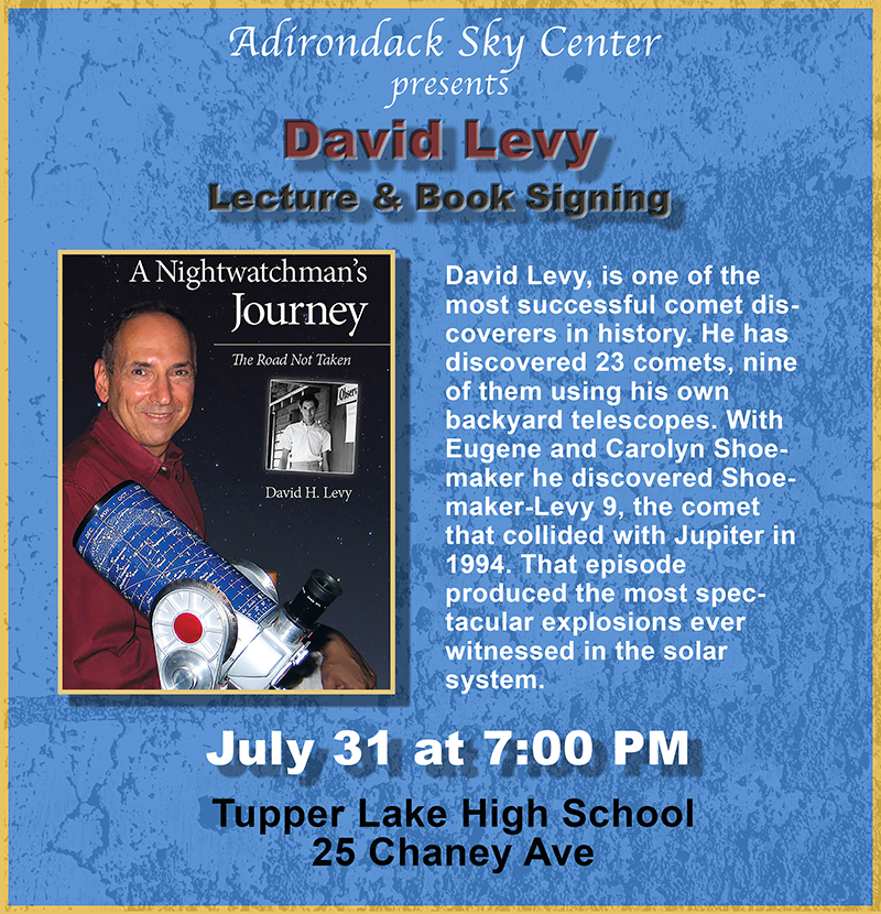 Lecture & Book Signing: David Levy -