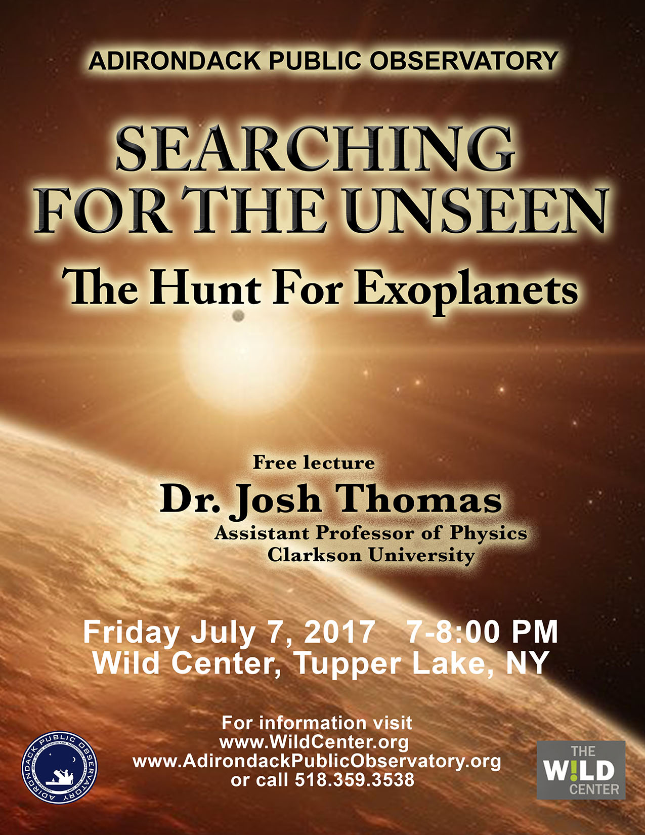 Lecture: Dr. Joshua Thomas
