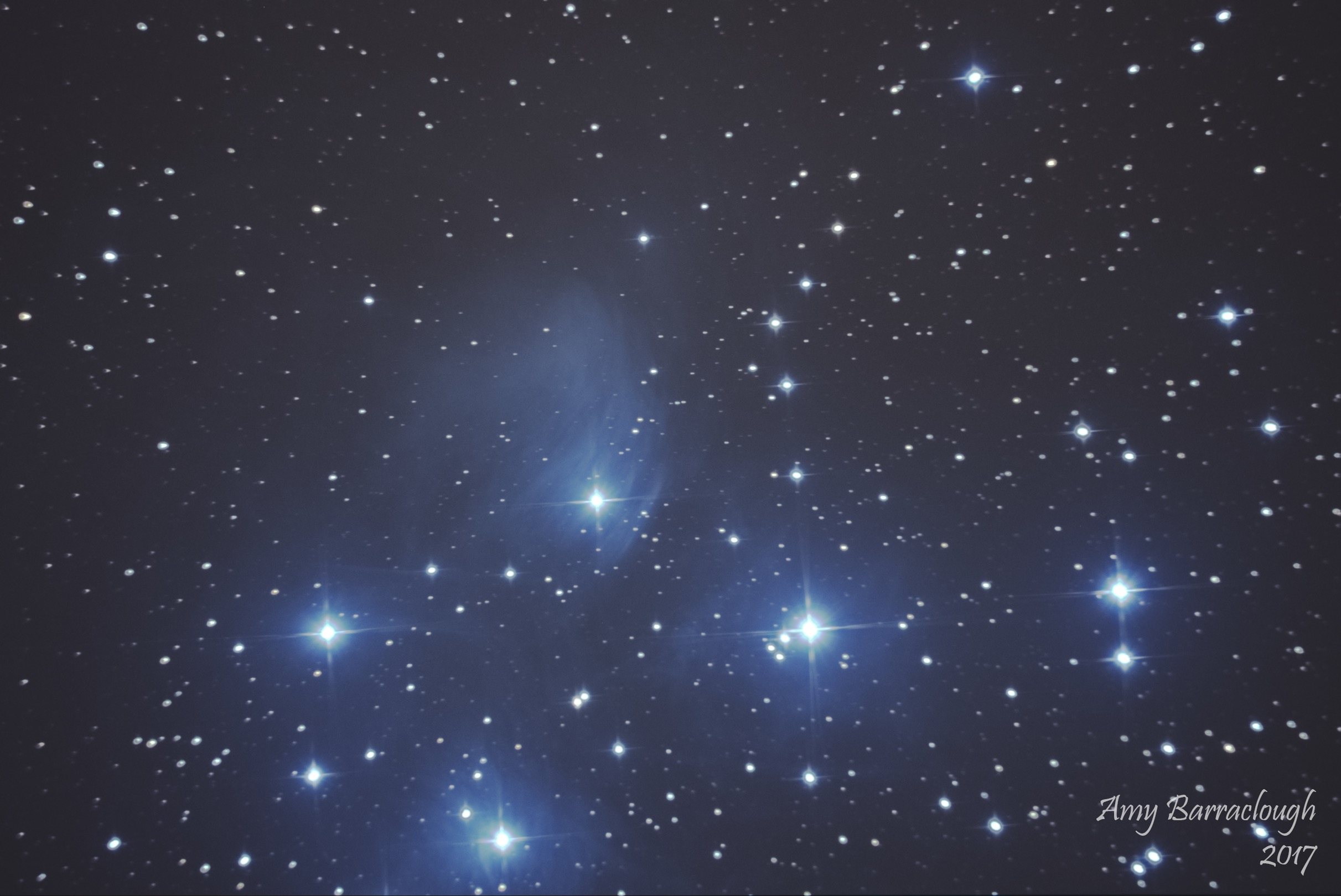 The Pleiades (M45) - Amy Barraclough