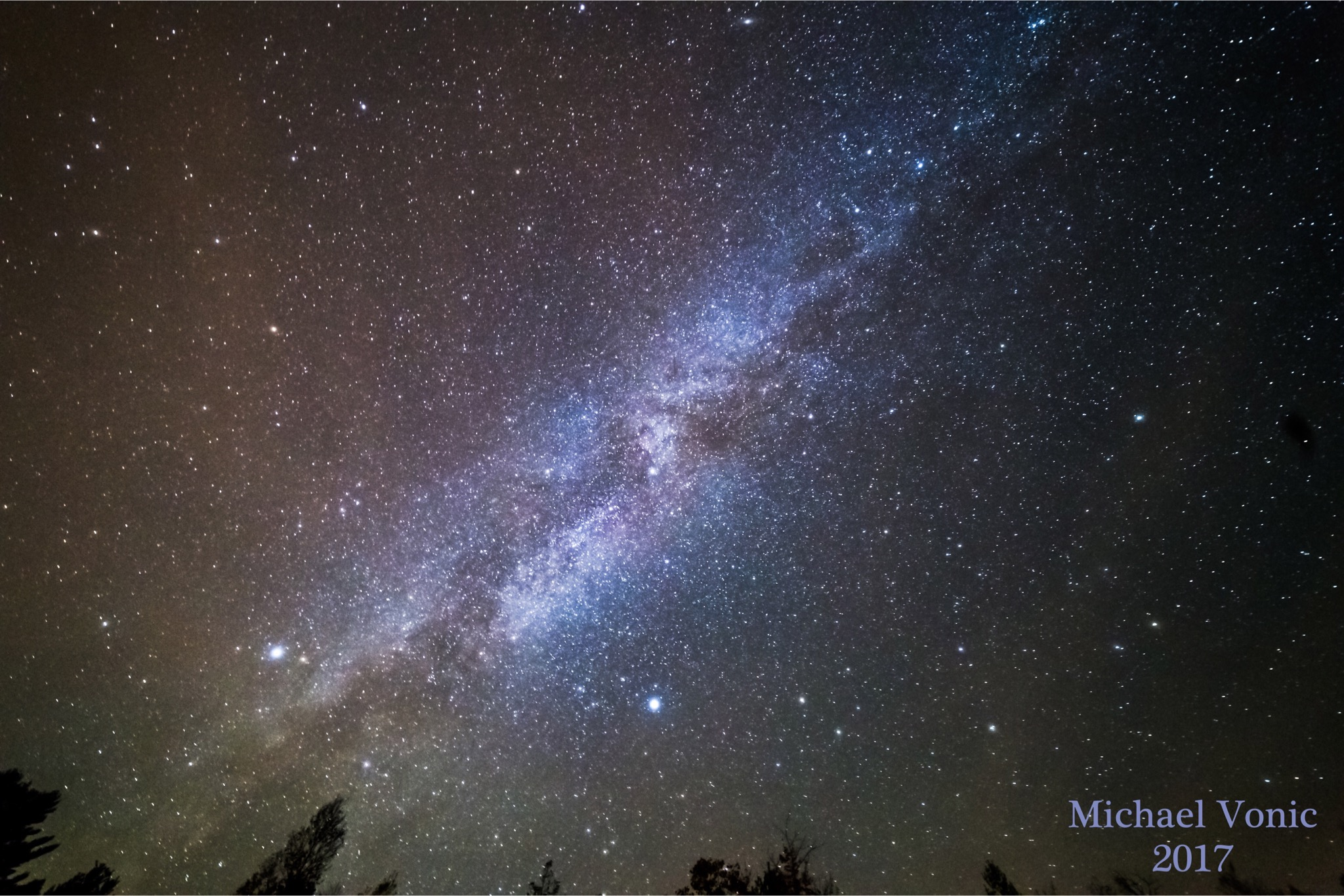 The Milky Way Galaxy - Michael Vonic