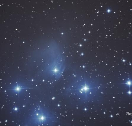 The Pleiades (M45) - Amy Barraclough